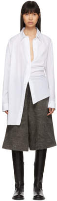 Ann Demeulemeester SSENSE Exclusive White Cotton Shirt