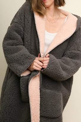 Umgee USA Fuzzy Oversized Hooded