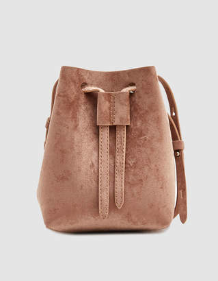 Nanushka Minee Crossbody Bag in Mocha