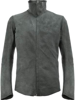 Isaac Sellam Experience high collar leather jacket