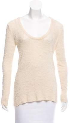 Rag & Bone Silk-Blend Open Knit Sweater