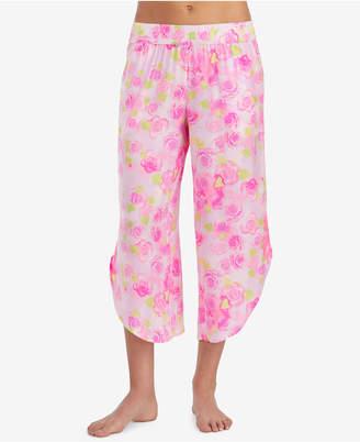 Betsey Johnson Embroidered Pajama Pants