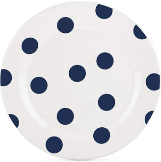 Kate Spade All in Good Taste Deco Dot 4-Pc. Cobalt Salad Plate Set