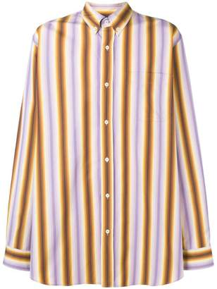 Marni striped buttondown shirt