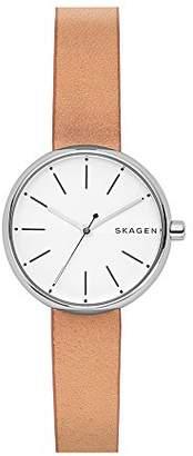 Skagen Women's SKW2594 Signatur Leather Watch