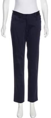 Zac Posen Mid-Rise Straight-Leg Pants w/ Tags