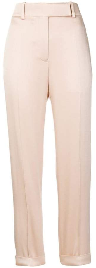 straight-leg trousers