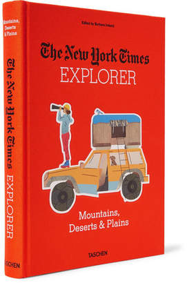 Taschen The New York Times Explorer: Mountains, Deserts & Plains Hardcover Book