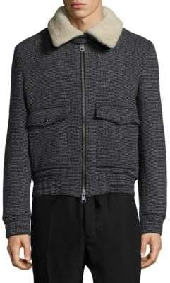 Ami Sherpa Collar Jacket