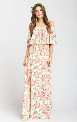 Show Me Your Mumu Hacienda Maxi Dress ~ Lily Lady