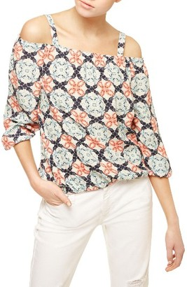 Women's Sanctuary Tori Cold Shoulder Top $89 thestylecure.com