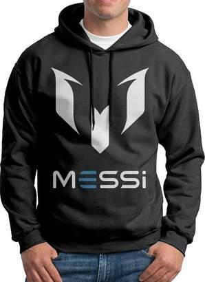 Sarah Men's Lionel Messi Logo Hoodie L