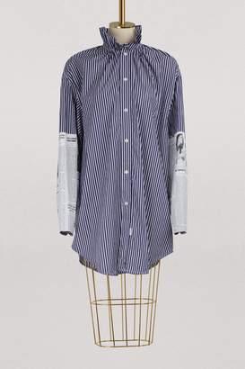 Balenciaga Long sleeved striped shirt