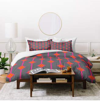 Deny Designs Holli Zollinger Indie Star Bright Twin Duvet Set Bedding