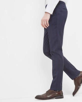 Ted Baker Debonair Checked Wool Trousers