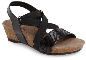 Women's Munro Lido Wedge Sandal $169.95 thestylecure.com
