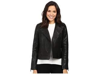 Liebeskind Berlin Biker Leather Jacket Women's Coat