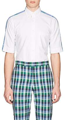 Thom Browne Men's Checked-Back Cotton Button-Down Shirt