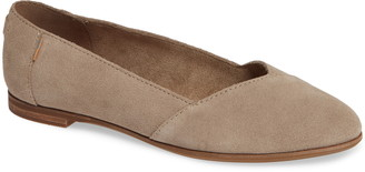 Toms Julie Almond Toe Flat