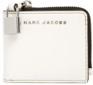 Marc Jacobs The Grind Leather Snap Wallet
