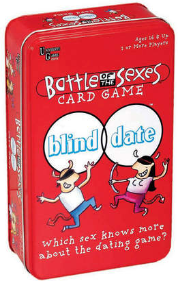 Areyougame Battle of the Sexes Blind Date Card Game in a Tin