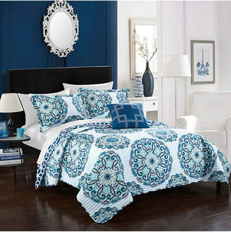 Chic Home Madrid 3 Piece Twin Quilt Set Bedding