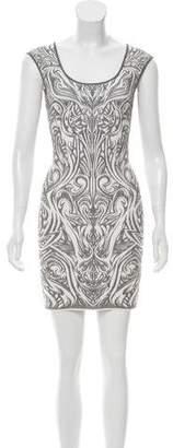 RVN Metallic Knit Dress