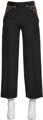 Y/Project Y Project Cool Wool Pants W/ Lace-up Chains