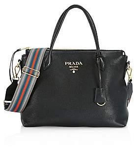 Prada Women's Large Leather Shoulder Bag