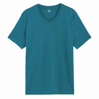 La Redoute COLLECTIONS Cotton V-Neck T-Shirt
