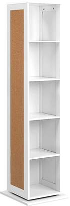 Resort Living Bookshelves Syper Rotating Storage Cabinet