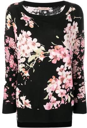 Twin-Set blossom knit sweater