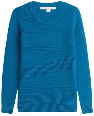 Diane von Furstenberg Wool Pullover with Cashmere