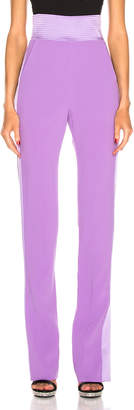 David Koma Side Panel Trouser Pant in Lavender | FWRD