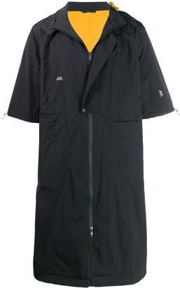 Oakley By Samuel Ross short sleeved raincoat