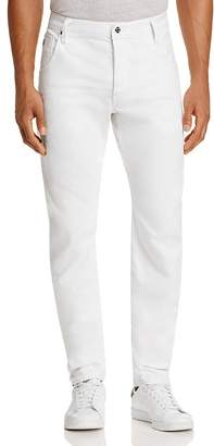 G-STAR RAW Slim Fit Jeans in 3D Raw $180 thestylecure.com
