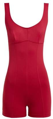 Ernest Leoty - Louise Shortie Playsuit - Womens - Burgundy