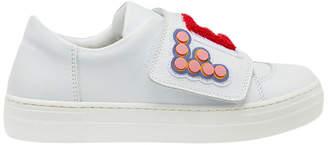 Fendi touch fastening logo sneakers