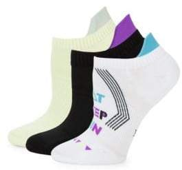 Hue Three-Pack Air Sleek Cushion Liner Socks