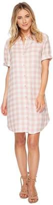 BB Dakota Cicely Plaid Shirtdress Women's Dress