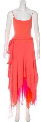 Ralph Lauren Black Label Cashmere Maxi Dress
