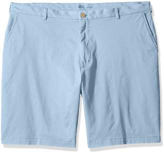 """Izod Men's Big and Tall Saltwater 9.5"""" Flat Front Chino Short"""