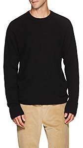 James Perse Men's Thermal-Knit Cashmere Sweater - Black