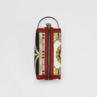 Burberry Archive Scarf Print Cotton Pouch