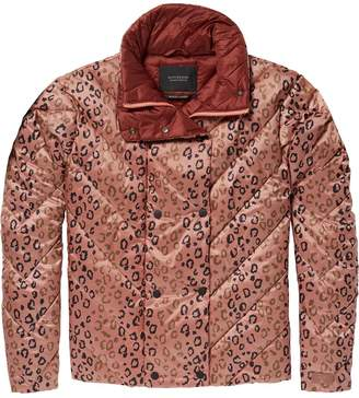 Scotch & Soda Leopard Print Jacket
