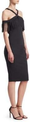 Chiara Boni Ema Fringe Dress
