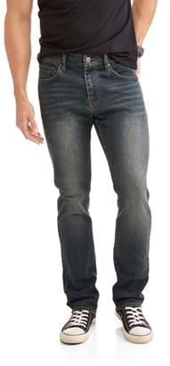 LAZER Men's Slim Straight Fit Jeans with Stretch