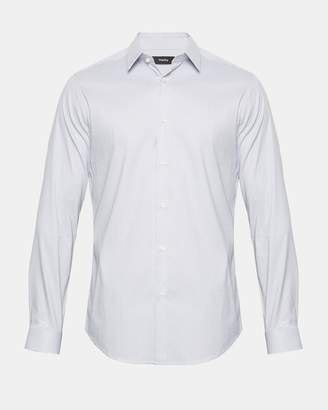 Theory Slim Shirt with Point Collar