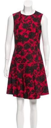 Michael Kors Wool Floral Mini Dress w/ Tags