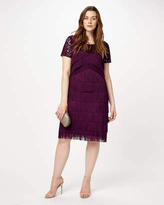 Phase Eight Kylie Fringe Dress